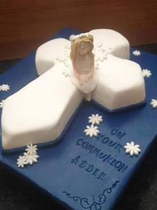 Addie Communion Cake