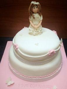 Molly Communion Cake
