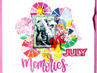 July Memories/ By Josefine ScrapyCat
