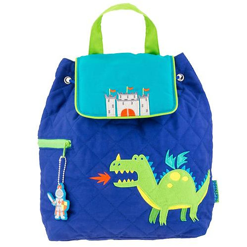 Quilted Backpack - Dragon