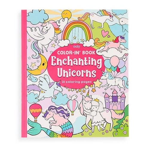 Color-in Book - Unicorns