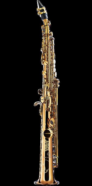 Forestone Soprano Saxophone SX Cognac Lacquered