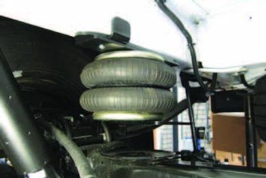 Пневмоподвеска Форд Транзит, пневмоподвеска Ford Transit, V363