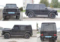 Пневмоподвеска Mercedes-Benz G-класс. Пример работы опции AutoLevel. VB-FullAir 4C на MB G-63 AMG.