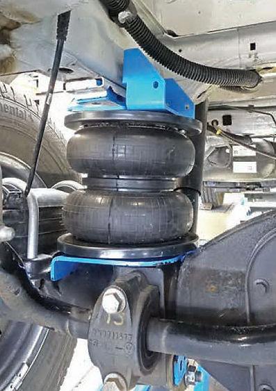 Пневмоподвеска VW Crafter