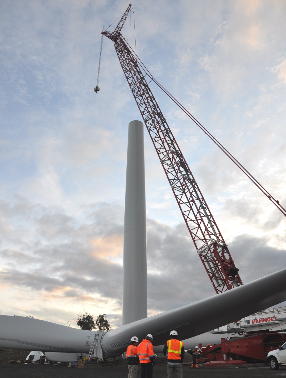 Turbine installation