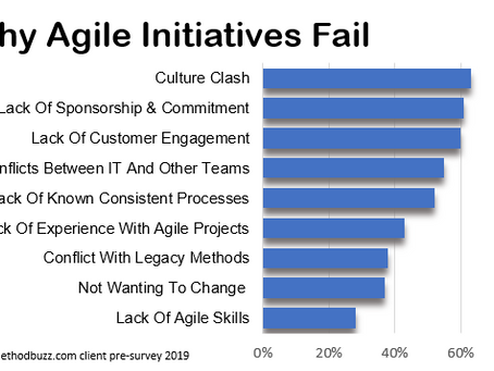 9 Reasons for Agile Failures