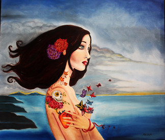 Land 24x30 Oil on Canvas