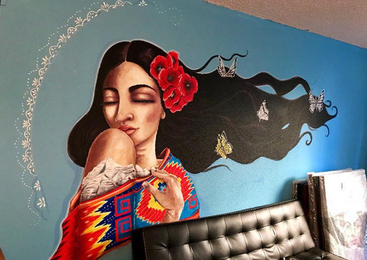 Malinche Mural