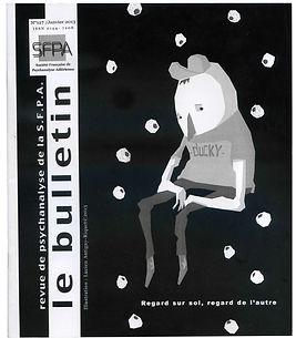 Le bulletin - Revue de psychanalyse de la S.F.P.A.