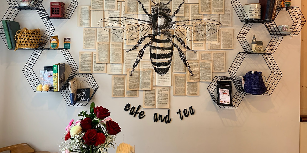 Afternoon Tea at The Book and Bee with Novel Adventures®