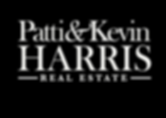 Patti & Kevin Harris Real Estate Logo Bl