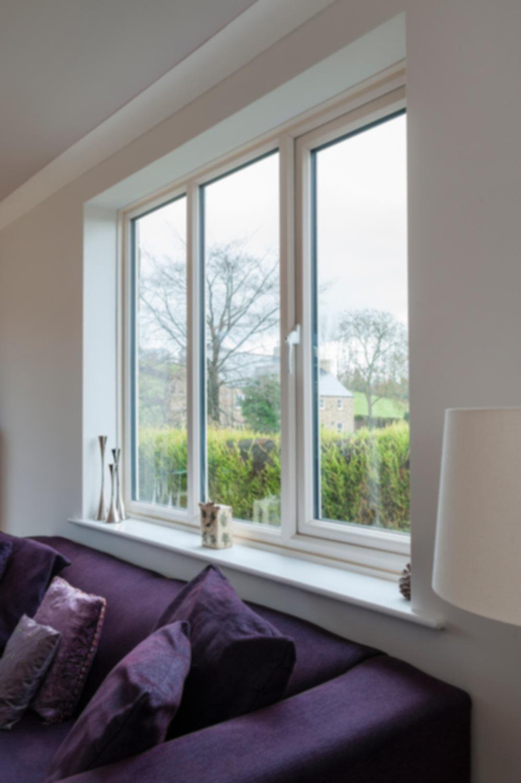 PVC White Window