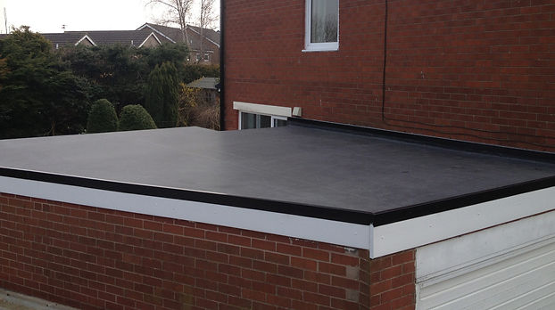 epdm flat roof covering