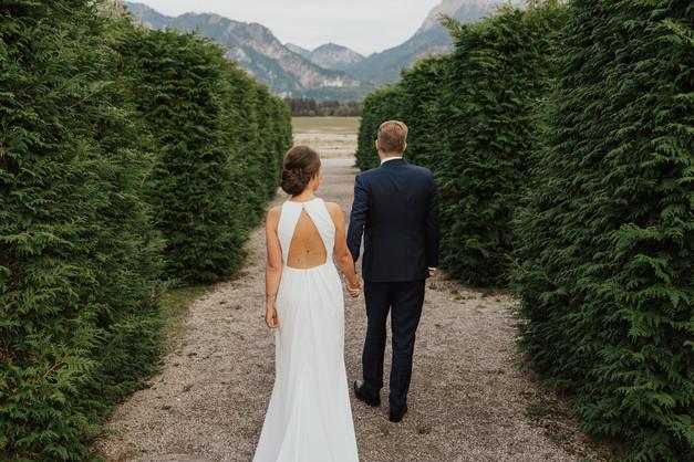 Brautpaarshooting in Füssen am Forggensee
