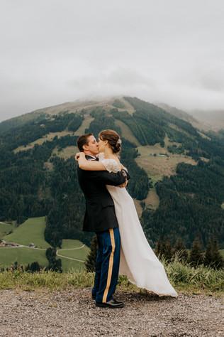 Hochzeit auf der Bischofer Alm   Tirol