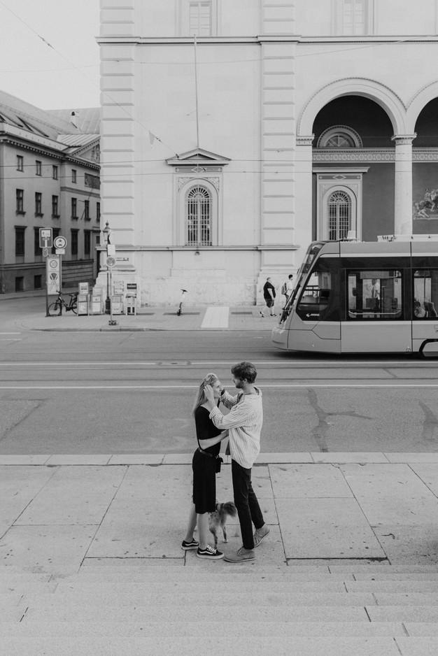 Paarshooting auf der Maximilianstraße bei München