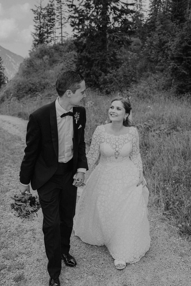 Hochzeit am Spitzingsee