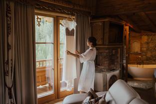 Getting Ready Hochzeitslocation Bischofer Alm