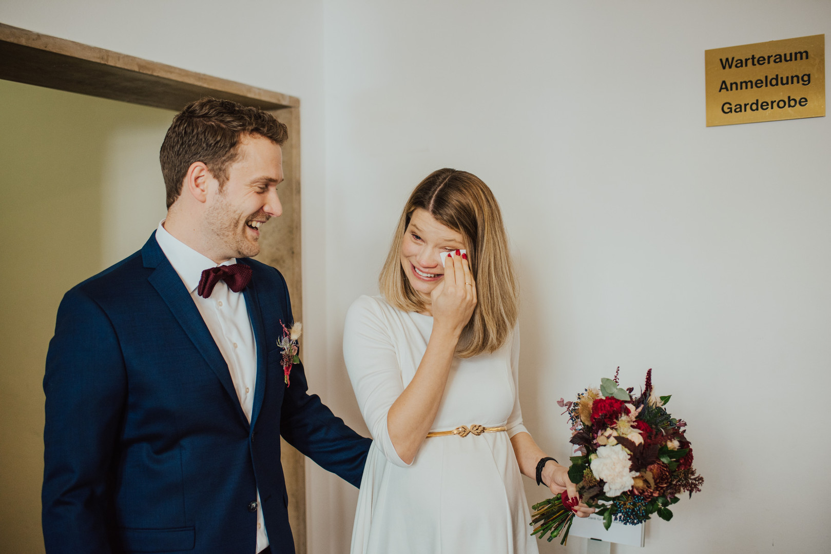 Standesamtlich heiraten im Standesamt München Mandlstraße