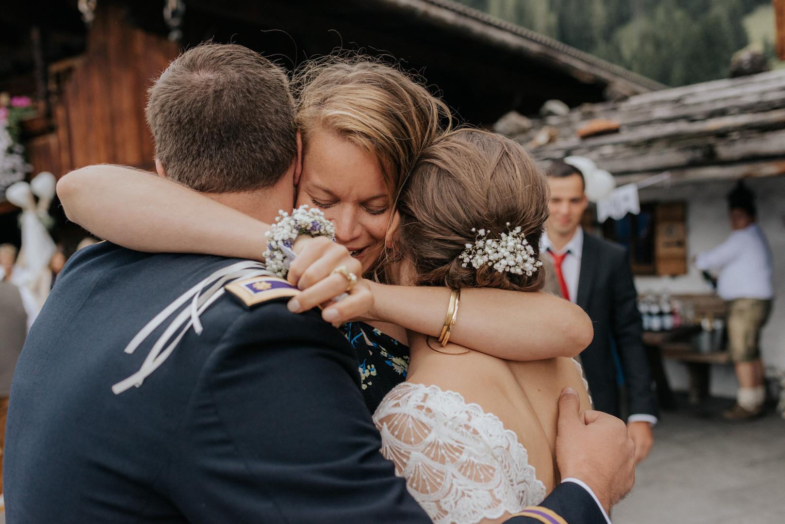 Hochzeit auf der Bischofer Alm in Tirol