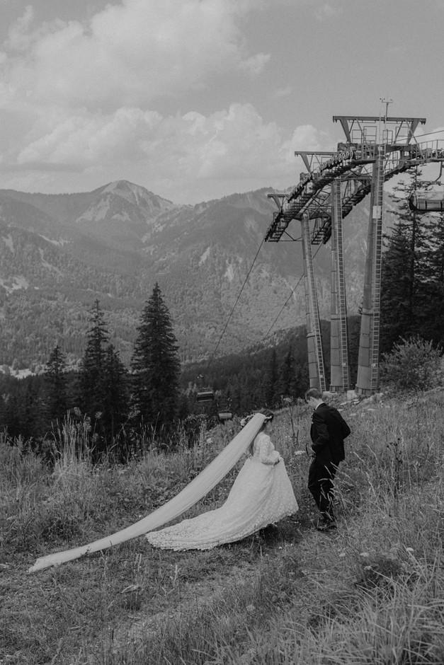 Hochzeitsbilder am Spitzingsee