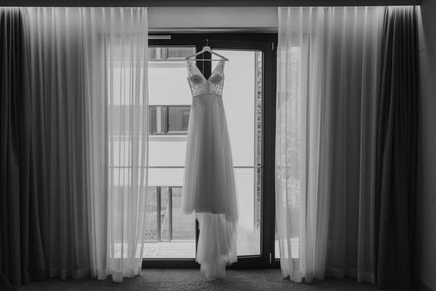 Brautkleid Detailfoto München