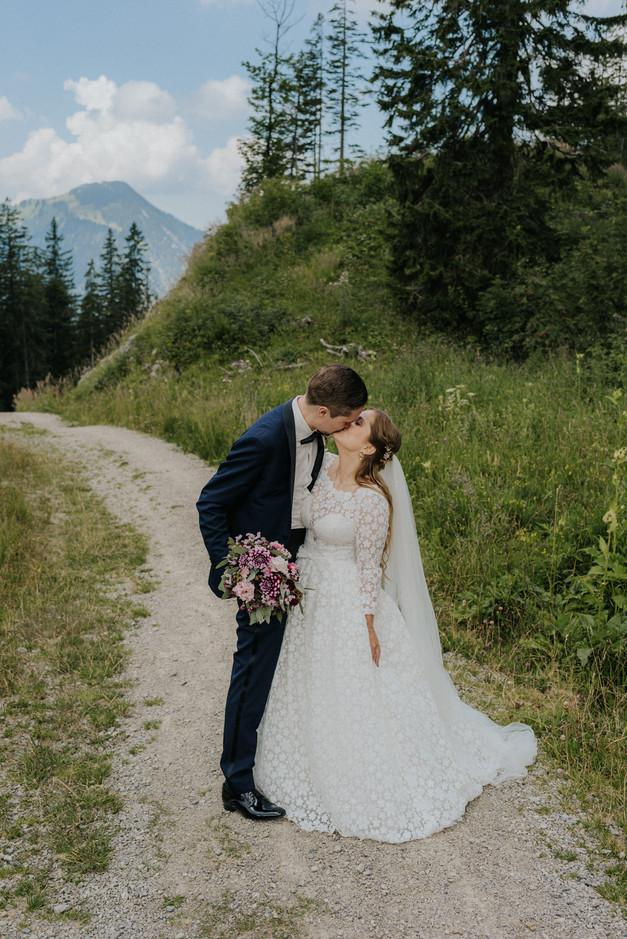 Hochzeitsbilder auf dem Stümpling am Spitzingsee