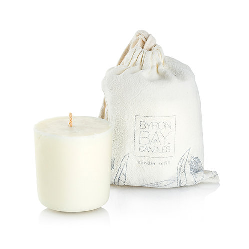 Scented Pure Soy Candle REFILL - Sandalwood Vanilla 50 hour