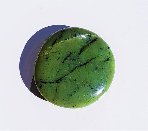 Nephrite Jade - Polished Flat Stone
