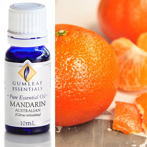 Mandarin Pure Essential Oil - Australian  - 10ml
