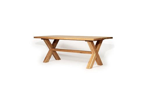 Malibu Dining Table - Solid American Oak - 240cm  wide - rr $2999