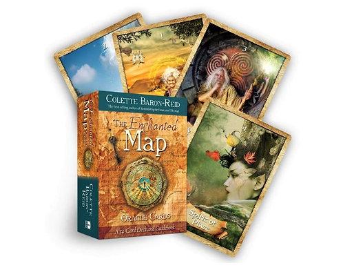 The Enchanted Map Oracle Deck - Colette Baron-Reid