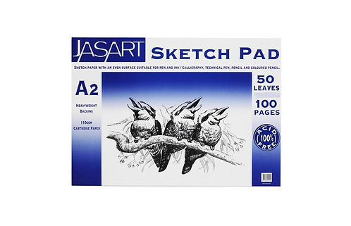 Premium A2 Sketch Pad - Also Avail A3 & A4