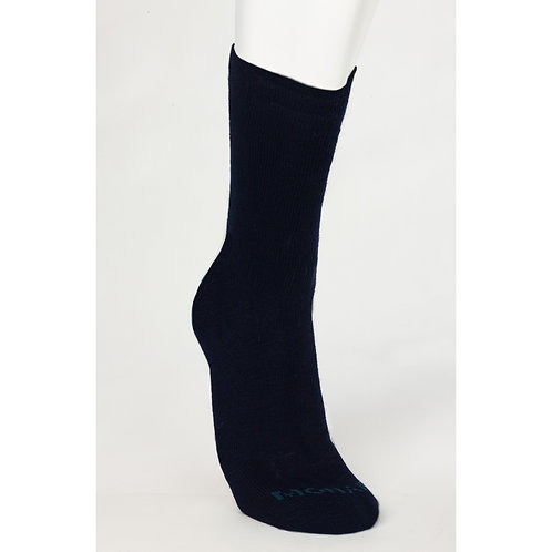 Soft Mohair/Bamboo Health Socks - Black size 8-11