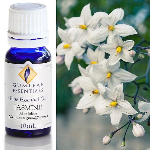 Jasmine - 3% Pure Essential Oil in Jojoba - 10ml