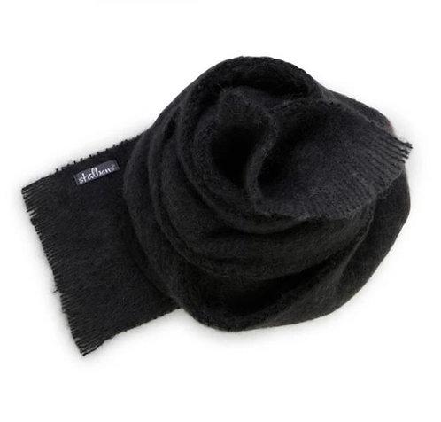 Alpaca Scarf - Coal - Dark Charcoal