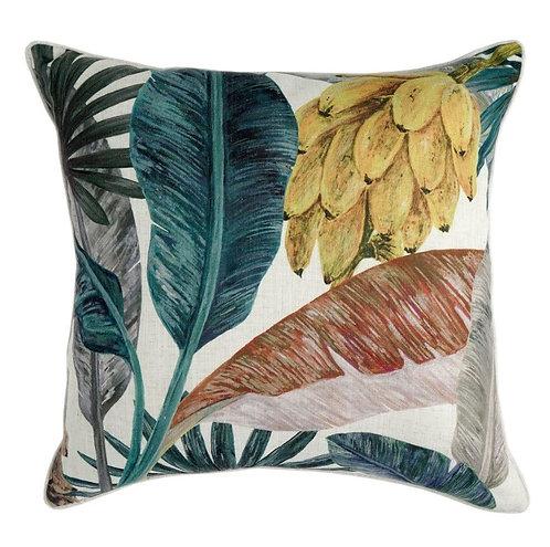 Savannah Woven Linen Cushion - 55x55cm