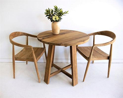 Bradley Cafe Table - Premium Sustainable Teak - rr$699