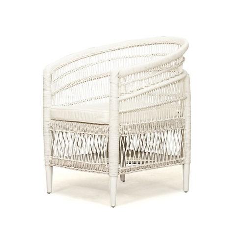 Malawi Armchair - White