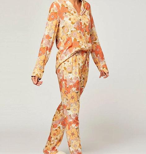Toscana Long Pyjama/Lounging Set