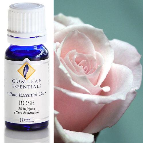 Rose Pure Essential Oil 3% in Jojoba - 10ml
