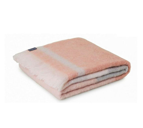 Mohair Throw - Champagne - 122cm x 183cm