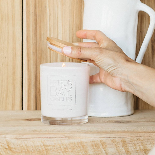 Scented Pure Soy Candle Jar - Coconut Lime 50 hour