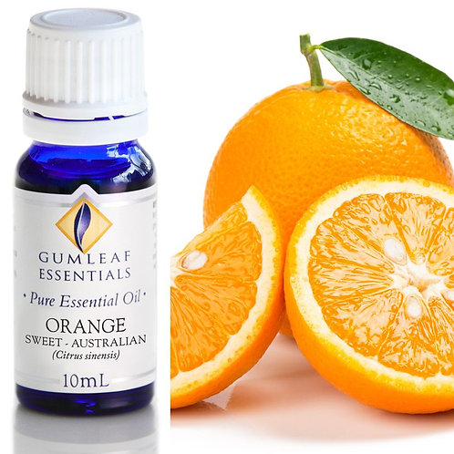 Orange Pure Essential Oil - Sweet Valencia - Australian  - 10ml