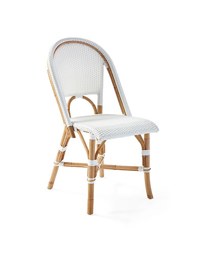 Sorrento Dining Side Chair - White - rr$329