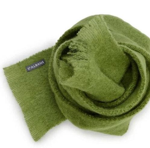 Alpaca Scarf - Clover - Moss Green