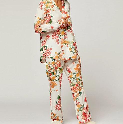Saint Martin Long Pyjama/Lounge Set - Off White - S M L