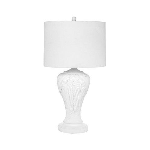 Martinique Table Lamp - White - 84cm High - RR$295
