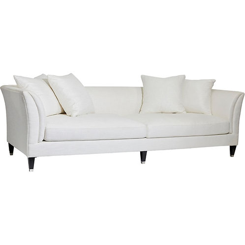 Tailor 3-Seat Sofa - Ivory Linen - RR $4495